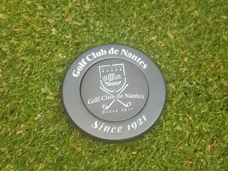 Nouveauté Médaille Marque-Balle 50 ans du Golf club de Nantes