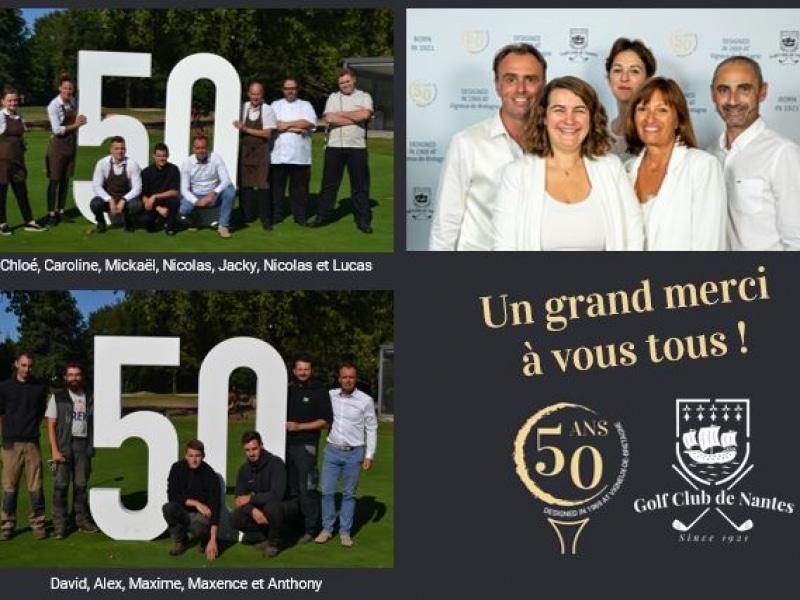 Happy Fifty Anniversary – Défi 50 trous & Soirée Blanche