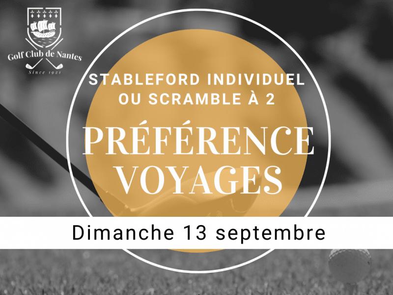 Trophée Préférence Voyages
