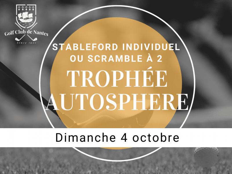Trophée Autosphere