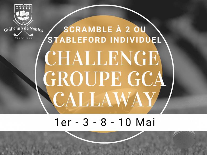 Challenge Groupe GCA Callaway
