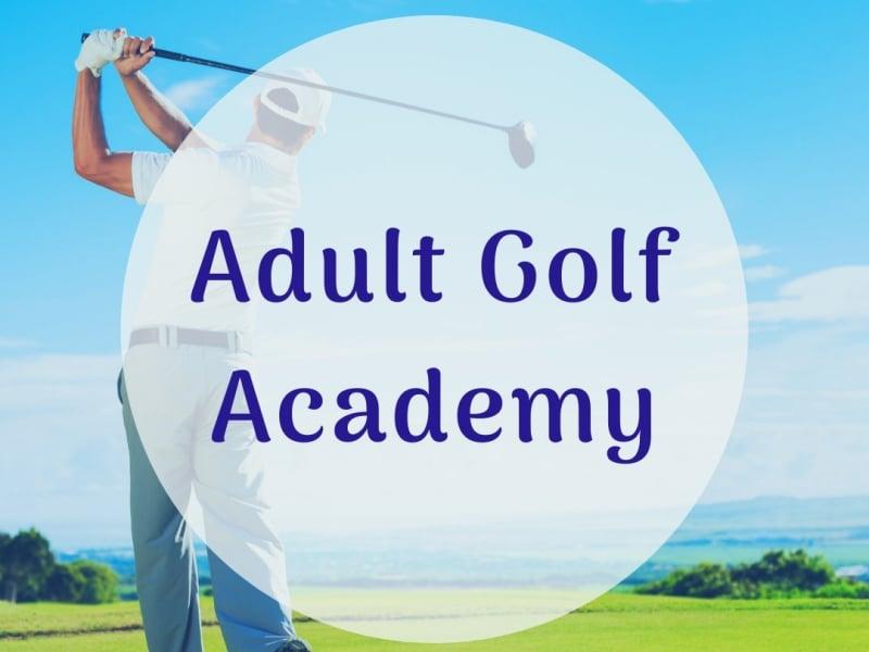 Adult Golf Academy