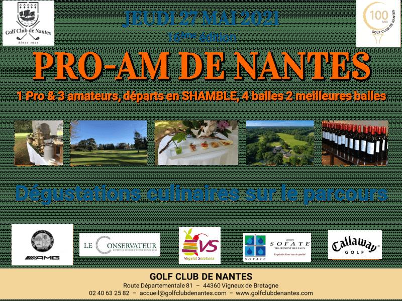16ème Pro-Am «Gourmand» de Nantes