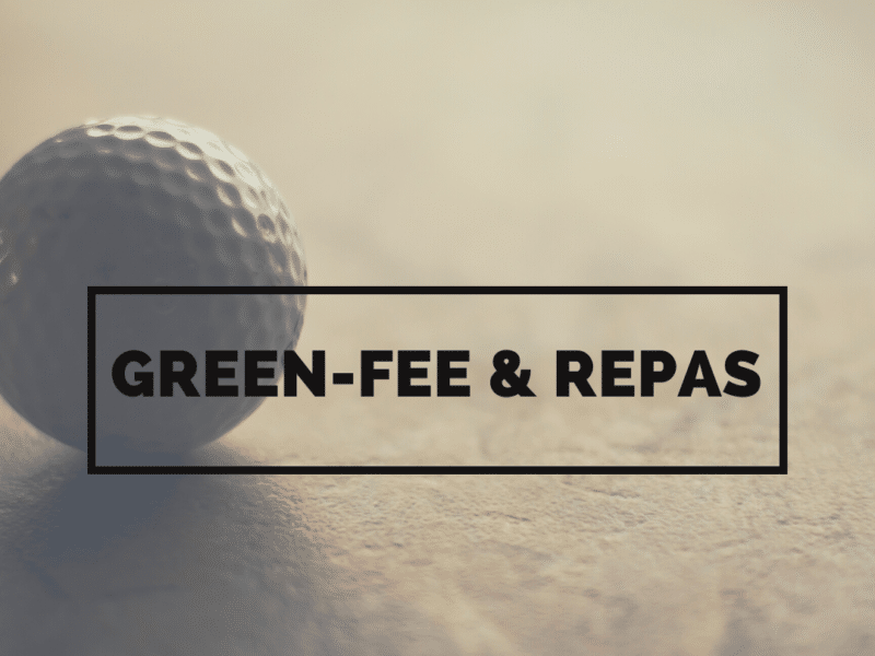 Offre green-fee & repas